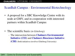 ScanBalt Campus - Environmental Biotechnology