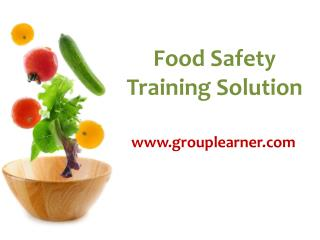 Food Safety Training Solution