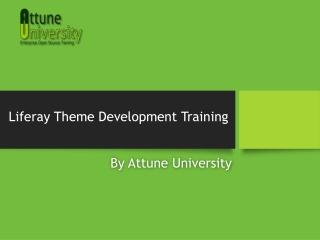 Liferay Theme Development Training