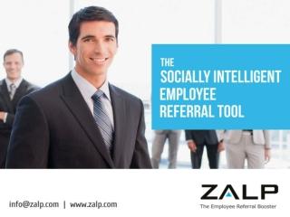 Zalp Webinar - Raising your employee referral program result
