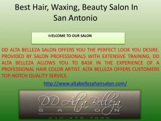 Hair Relaxers In San Antonio