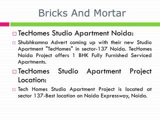 book@09560092570, techomes studio apartment noida