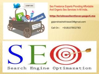 Seo Expert Services In Rajasthan , Gurgaon , Delhi , Mumbai