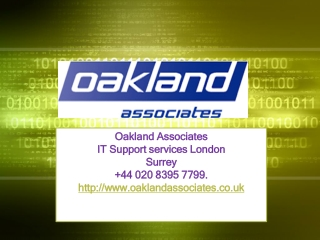 Computer Services London,IT Support services London