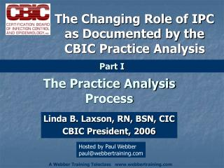 The Practice Analysis Process