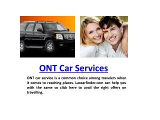 ONT Car Service