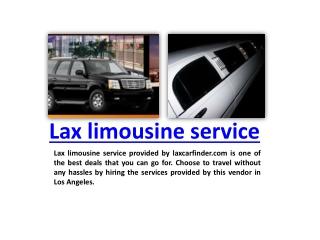LAX Limousine Service
