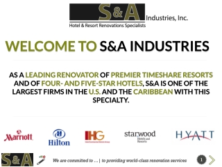 S & A Industries.