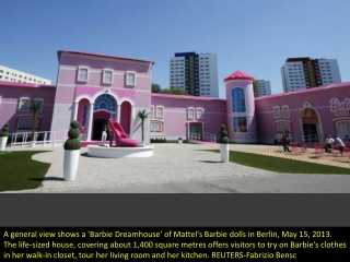 Barbie's German Dreamhouse