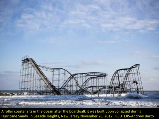 Roller coaster in the sea