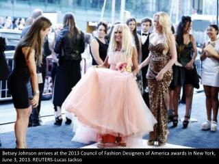 CFDA awards red carpet