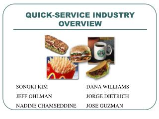 QUICK-SERVICE INDUSTRY OVERVIEW