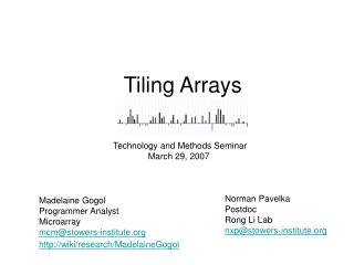 Tiling Arrays