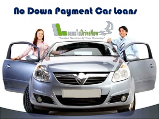 How To Get Cars With No Down Payment