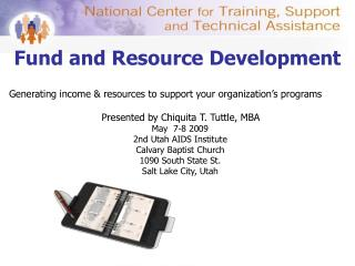 Fund and Resource Development