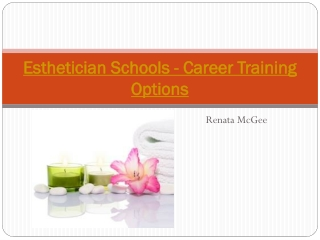 Esthetician Schools - Career Training Options