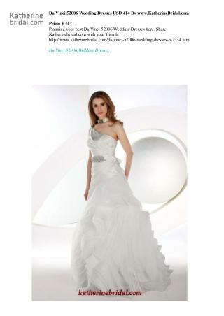 Da Vinci 52006 Wedding Dresses USD 414 By www.KatherineBridal.com