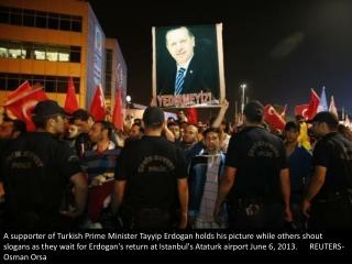 Erdogan returns to Turkey