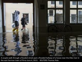 Floods ravage central Europe