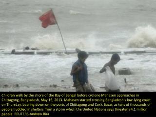 Preparing for Cyclone Mahasen
