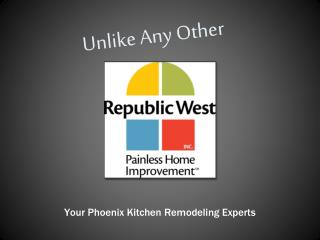 Phoenix Kitchen Remodeling - Republic West