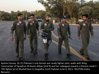 Pakistan's female Top Gun