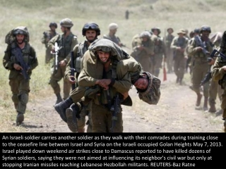 Soldiers of the Golan Heights