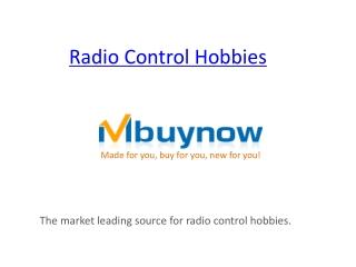 Radio Control Hobbies