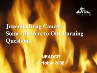 Juvenile Drug Courts:  Some Answers to Our Burning Questions
