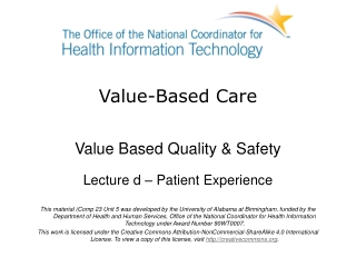 Measuring Health Care Quality