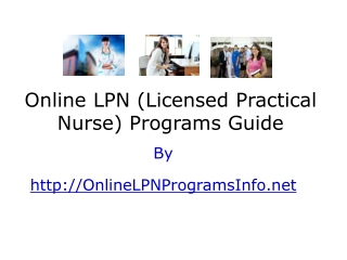 Ultimate Guide to Online LPN Programs