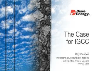 The Case for IGCC