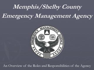 Memphis/Shelby County Emergency Management Agency