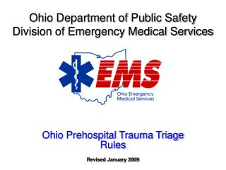 Ohio Department of Public Safety Division of Emergency Medical Services