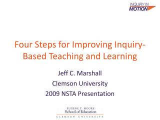 Four Steps for Improving Inquiry-Based Teaching and Learning
