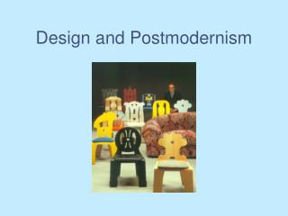 Design and Postmodernism