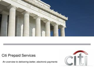 Citi Prepaid Services