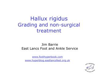 Hallux rigidus Grading and non-surgical treatment