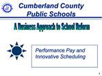 Cumberland County Public Schools