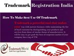 How To Make Best Use Of Trademark
