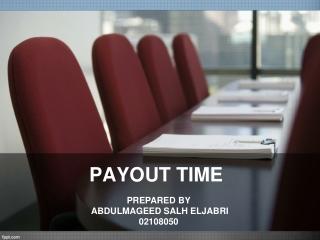 Payout time (POT)