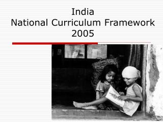 India  National Curriculum Framework  2005