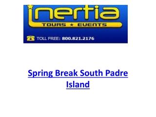 Spring Break South Padre Island