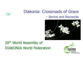 Diakonia: Crossroads of Grace -  Revive and Reconcile