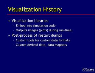 Visualization History