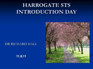 HARROGATE STS INTRODUCTION DAY