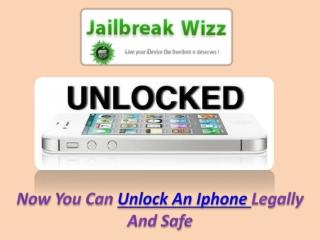 Unlock An IPhone