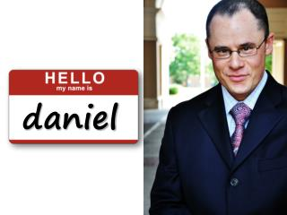 meet daniel ... revised!