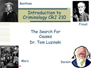 Introduction to Criminology CRJ 210