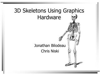 3D Skeletons Using Graphics Hardware
